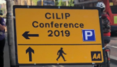 CILIP Road Sign